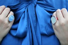 blue blue bow