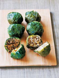 Japanese food / 熊野の里の姫めはり寿司