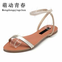 US $19.11 Women Gladiator Sandals 2016 Summer Peep Toe Flats Fashion Casual Shoes Woman Beach Shoes Ladies Flip-flops Zapatos Mujer Verano. Aliexpress product