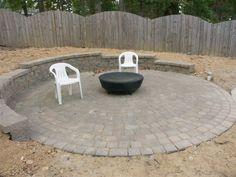 concrete hardscape semi circle - Google Search