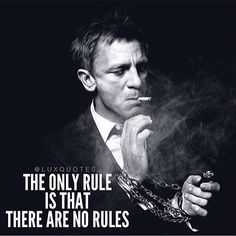 The only rule is that there are no rules