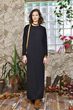 Chalah 2015-2016 Fall Collection #chalah #blackdress #womaninblack #womanfashion #fashion #istanbul #turkey