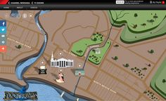 """""""Footprints"""" is a four-part documentary series that brings to life the story of Singapore's dynamic early communities and neighbourhoods.  Look at these crazy detail that Our designer created, one by one, pixel by pixel!"""