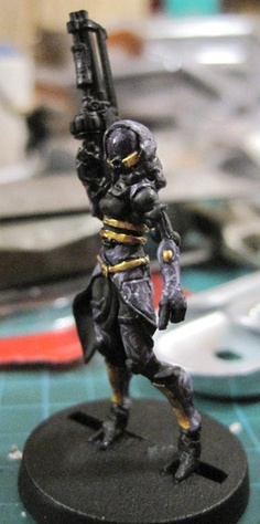 Infinity miniature, converted to Tali from Mass Effect.