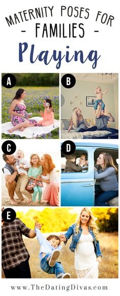 Lifestyle Maternity Family Photos
