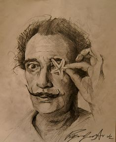 Pencils on paper by JerryD Dali Artwork, Tattoo Artists, Artworks, Paper, Art Pieces