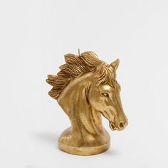 WARNING:<br>- Keep in view. <br>- Keep away from children.<br>- Place vertically on a suitable surface.<br>- Keep away from draughts and flammable objects. Golden Horse, Zara Home Collection, Zara Gold, Textiles, Summer Sky, Home Accessories, Duvet Covers, Oriental, Lion Sculpture