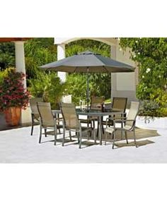 amalfi 6 seater patio furniture dining set