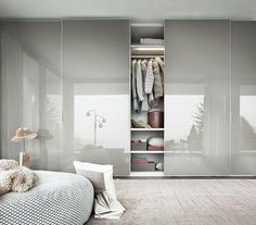 45 Creative Bedroom Wardrobe Design Ideas That Inspire On Like everything else in life, there are those who were born to plan out bedrooms and those who would rather … Bedroom Closet Doors, Wardrobe Design Bedroom, Bedroom Closet Design, Bedroom Furniture Design, Modern Wardrobe, Bedroom Decor, Wardrobe Bed, Modern Closet, Home Decor