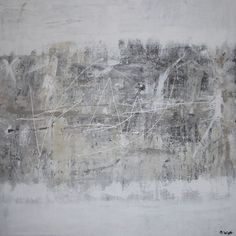 """""""The Mountain,"""" original abstract painting by artist Oliver James Watt available at Saatchi Art #SaatchiArt"""