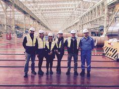 Bizim Kocaeli Gazetesi olarak ekip arkadaşlarımızla Posco'yu gezdik! #bizimkocaeli #posco #fabrika #ekip #gazete #izmit #kocaeli