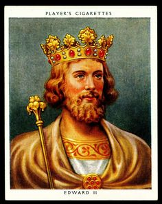 King Edward II | 1307 ♔ 1327 | Queen Isabella of France | House of Plantagenet