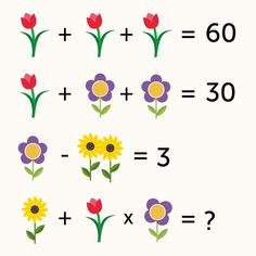 Try solving this pretty neat math puzzle. What does the last equation equal? #powersofobservation