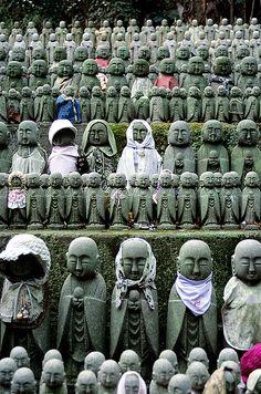 Jizo (guardian of departed children)Kyoto, Japan