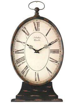 Zentique Decor Paris Table Clock