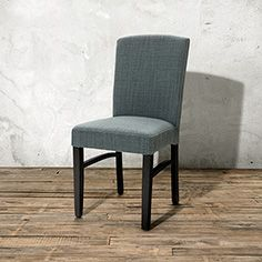 Capri Upholstered Dining Side Chair in Canton Ivory