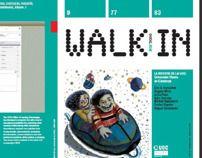 these Illustrations are made for Universitat Oberta de Catalunya Magazine, Walk-inn/ 2009