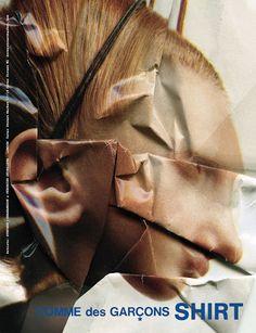COMME des GARÇONS Spring 2010 (Stephen J. Shanabrook & Veronika Georgieva, paper surgeries)