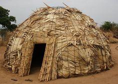 Fulani dwelling, Nigeria.