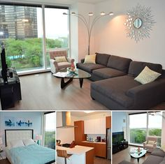 Our Alcove Studio at our 500 Lake Shore Drive property in #Chicago