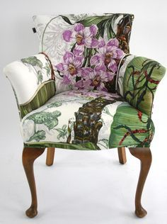 Image result for timorous beasties Bloomsbury Garden fabric for sale