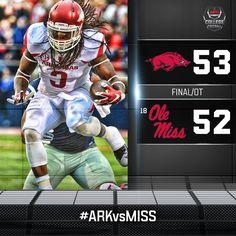 brandon allen olemiss 2015 | ESPNCFB : Arkansas pulls off the upset over #18 Ole Miss thanks to QB ...