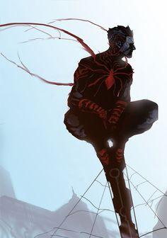 Spider-Man costume redesign By nefar007
