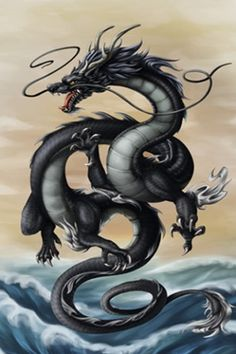 This is incredibly late, but as promised, here's a rendered dragon for the New Year! The dragon is my zodiac animal so I was all like \o/ doing this . Year of the Black Water Dragon 2012 Orca Tattoo, Hamsa Tattoo, Tiger Tattoo, Tattoo Ink, Sleeve Tattoos, Dragon Chine, Chinese Dragon Tattoos, Year Of The Dragon, Dragon's Lair