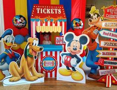 Austin's Mickey Mouse Clubhouse Carnival!!