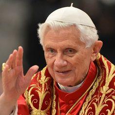 #5: Pope Benedict XVI. Leader of the Roman Catholic Church.