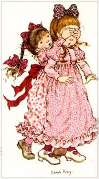 PREESCOLARES: IMÁGENES DE SAHARA KAY Sarah Key, Sara Key Imagenes, How To Drow, Holly Hobbie, Love Painting, Illustrations And Posters, Vintage Pictures, Mary Kay, Decoupage