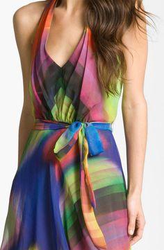 Suzi Chin Womens Side Seamed Dress
