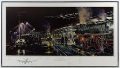 "Robert Bailey ""Ruhr Express"" Bomber Crew Signed Print"