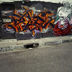 #graffiti  #wildstyle  #streetart  #character  #freestyle  #nsideone  #indonesia - @Nsideone Eve