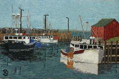 Halls Harbour by Suzanne Gunn