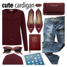 """Casual"" by pastelneon ❤ liked on Polyvore featuring Levi's, Charlotte Olympia, MICHAEL Michael Kors, T By Alexander Wang, STELLA McCARTNEY and Sloane Stationery"