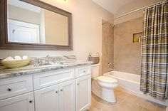 Bathroom - Creative Home Concepts - Southern Living Custom Builder Program Showcase Home - The Beran Group - Long & Foster Realtors - Richmond, VA - Hallsley