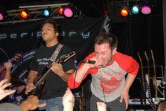 Misha Mansoor (Periphery guitarist) and Spencer Sotelo (Periphery vocalist)