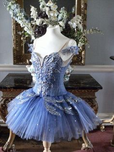 Gorgeous blue tutu Beauty Fairy for Sleeping Beauty maybe?