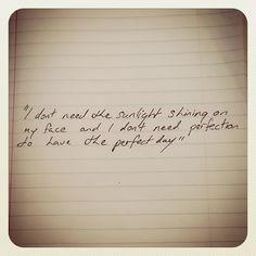 Perfect lyrics - Shane Filan