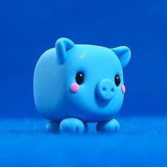 Kawaii Pig Cube   Flickr - Photo Sharing!