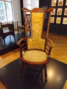 Armchair With High Backrest By Paul Ranson - Bröhan Museum | by The urban snapper