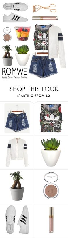 """addidas + denim = 5 stars"" by petalprada ❤ liked on Polyvore featuring adidas Originals, Tommy Hilfiger, Pomax, Muuto, adidas and Charlotte Tilbury"