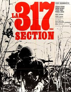 The 317th Platoon / La 317ème section (1965) Original French Grande Movie Poster