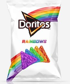 The In-Flight Snack We'd Like to See on Airlines: Rainbow Doritos