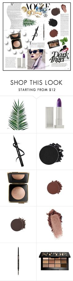 """""""Dark angel"""" by peachydivines ❤ liked on Polyvore featuring beauty, Nika, Lipstick Queen, Estée Lauder, Bobbi Brown Cosmetics and Butter London"""