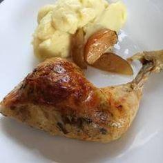 Töltött csirkecomb | Eva Firnigel receptje - Cookpad receptek Evo, Baked Potato, Mashed Potatoes, Baking, Ethnic Recipes, Whipped Potatoes, Smash Potatoes, Bakken, Backen