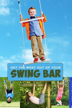 Get the Most Out of Your Swing Bar | Swings for Kids with Autism | Swings for Children with Special Needs