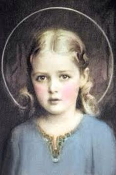 Child Mary.....simply breath-taking....sooooo beautiful.  I have never seen such a depiction of Her.  Love Her.