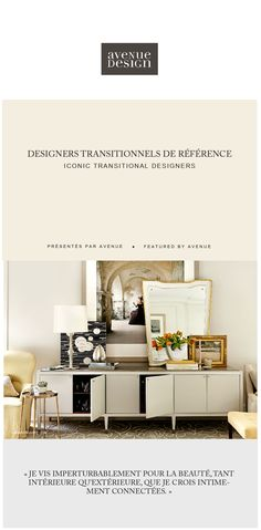 http://www.avenuedesigncanada.com  Get the Barbara Barry look at Avenue Design Canada in Montreal Qc. Subscribe to our email program for more info.